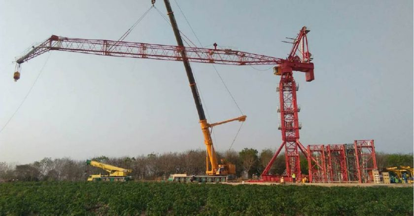 ALE adds tower crane to its global fleet