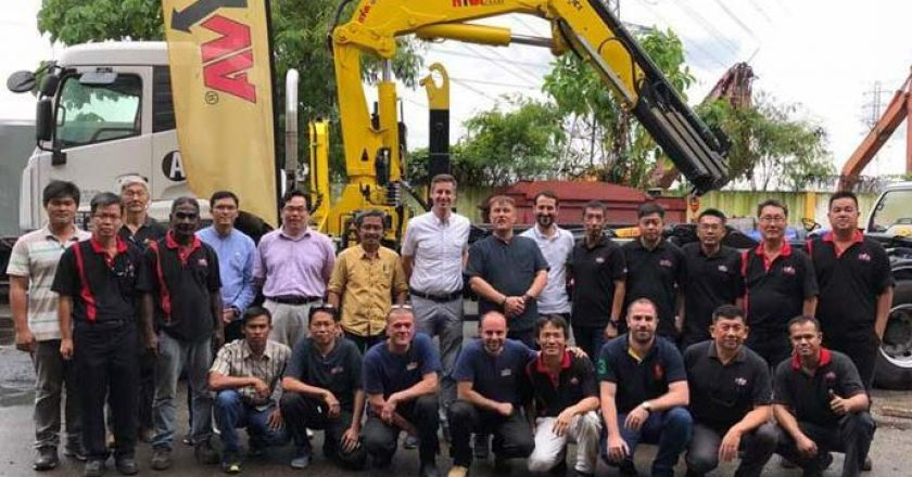 Hyva technician training in Asia