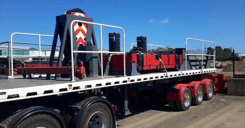Specialist trailers increase crane set-up efficiency