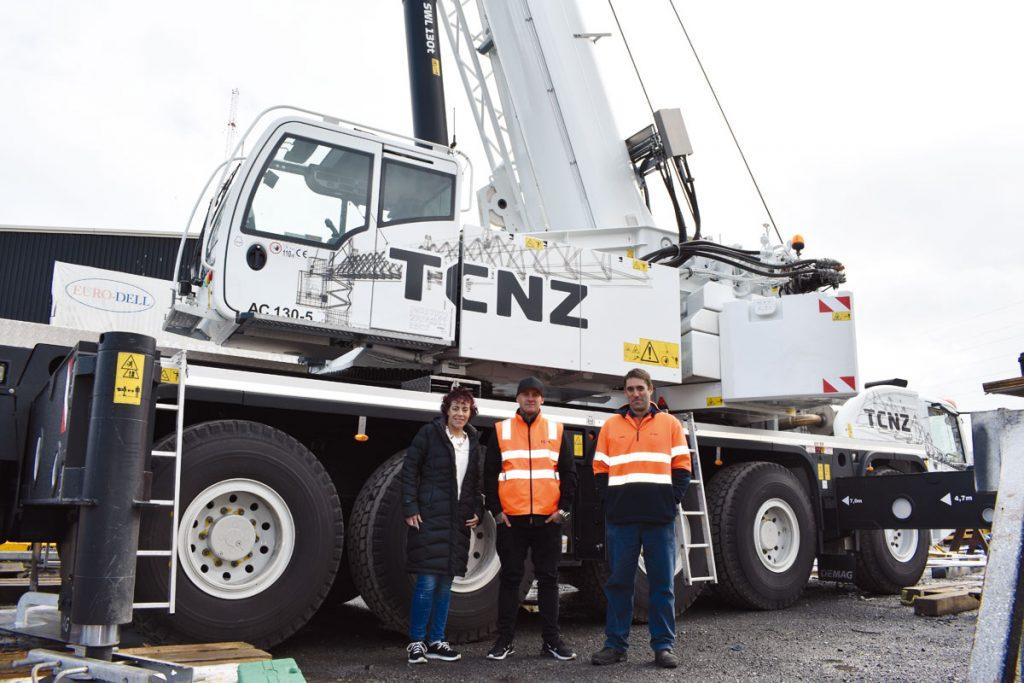 Tower Cranes NZ expand fleet with new Demag all-terrain