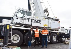 New Zealand's Tower Cranes NZ recently added a new versatile 5-axle, 130-tonne capacity class Demag crane to its fleet, which is equipped for efficient transportation and operation, while offering outstanding manoeuvrability on jobsites.
