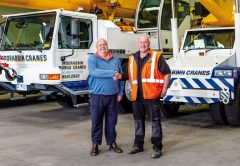 Melbourne-based crane hire company, Moorabbin Mobile Cranes, have decided to hand over the reigns to the business to Membrey's Transport & Crane Hire as of 29 October, 2018.