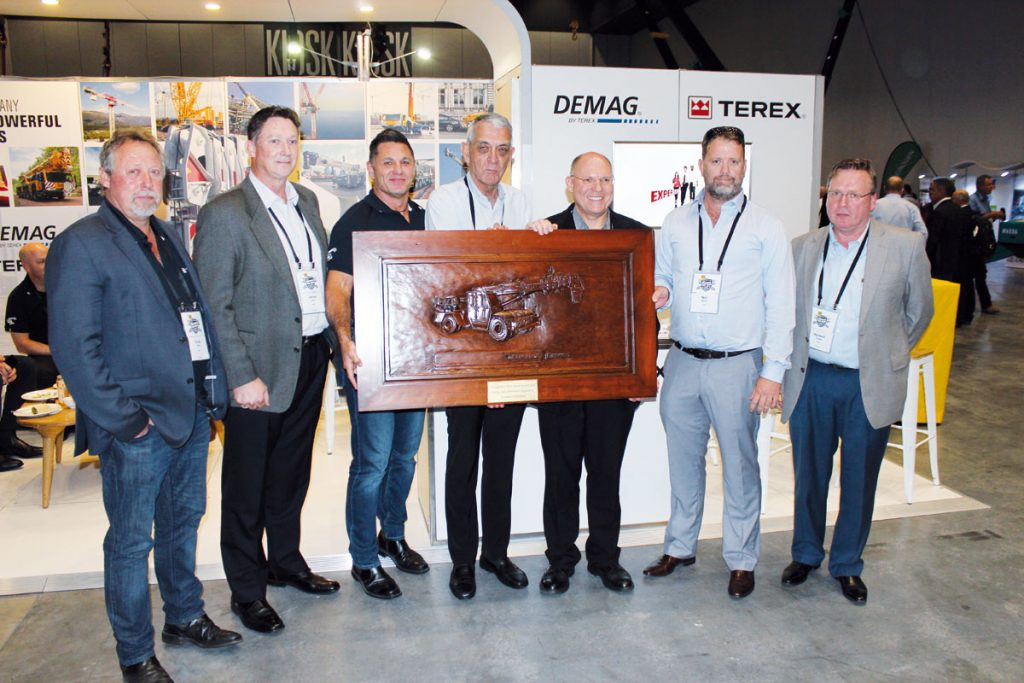 A delegation from the Terex mobile cranes dealer visited the CICA exhibition and conference to gain better insights into the Australian crane industry.