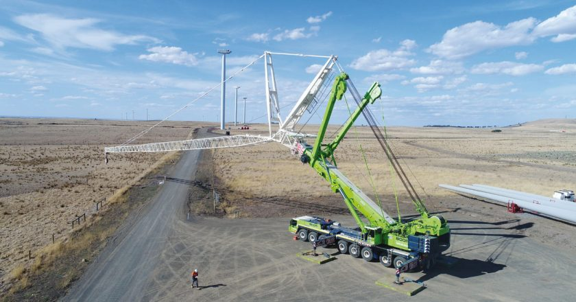 BOOM Logistics (Boom) completed work on installing 44 turbines at owner/developer Acciona's 132MW capacity Mt Gellibrand wind farm (25 kilometres east of Colac, VIC) in June this year, with commissioning ongoing in July and ramping up to full capacity in August.