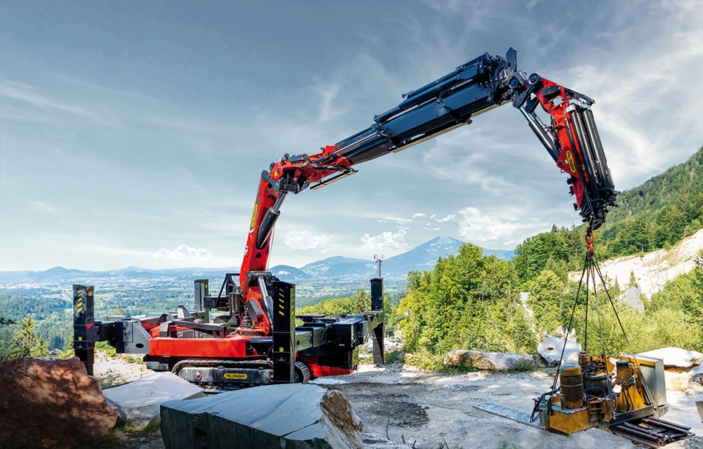 Hydraulic loader crane manufacturer Palfinger has launched its first crane mounted on a crawler chassis at the IAA Commercial Vehicles exhibition in September in Hannover, Germany.