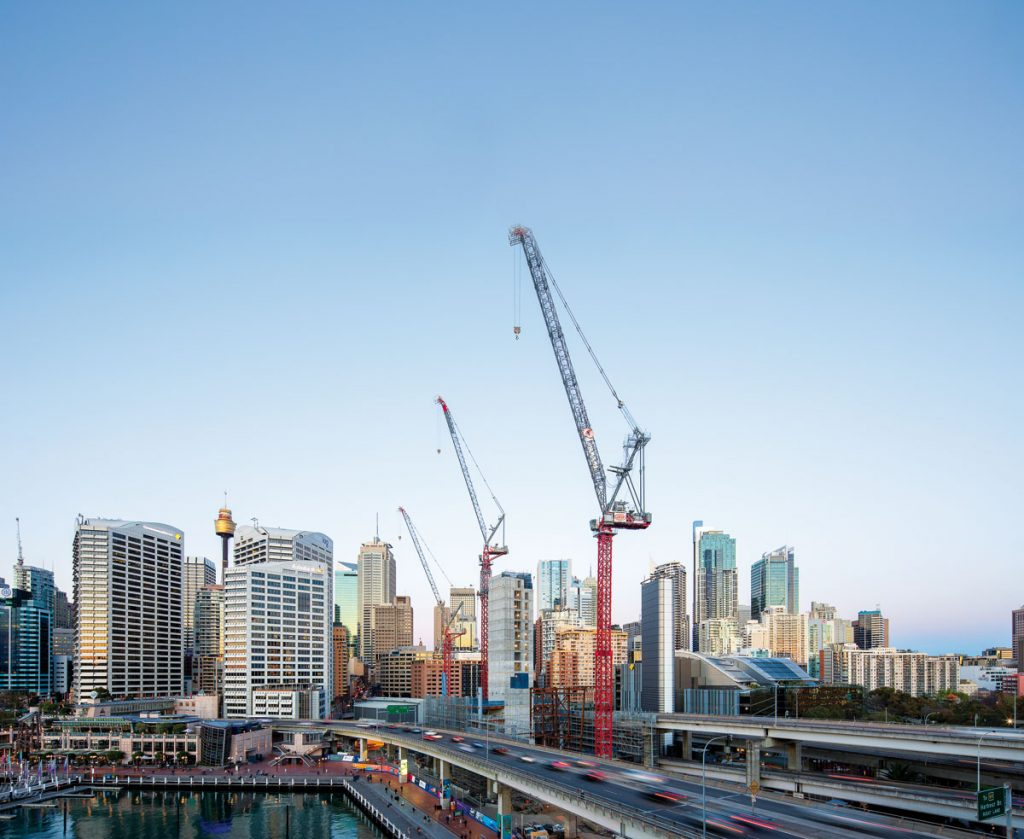 TITAN delivers Australia's largest Electric Luffing Tower