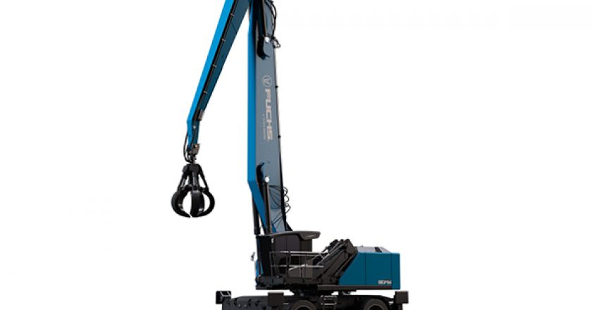 Specialist material handling company Fuchs will showcase three of its new innovations, including the launch of its new MHL375F HD material handler at bauma 2019.
