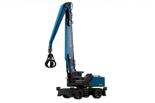 Specialist material handling company Fuchs will showcase three of its new innovations, including the launch of its new MHL375F HD material handler at bauma 2019.