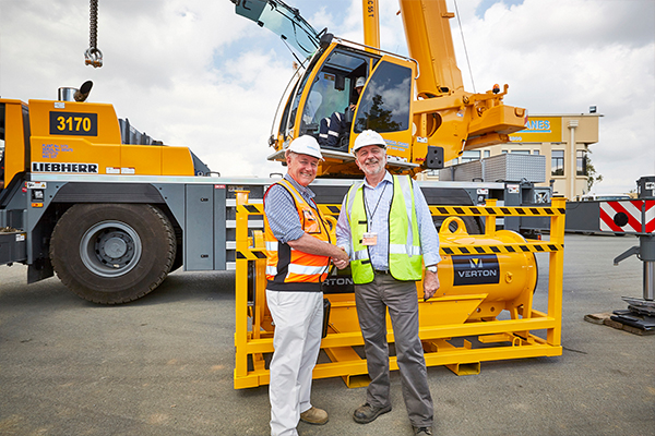 A new remote load-management system designed to improve safety in crane operations and boost productivity has been delivered to a national crane hire company.