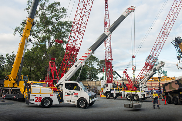 TRT Australia has released a new articulated crane designed to revolutionise safety in the pick and carry crane industry.