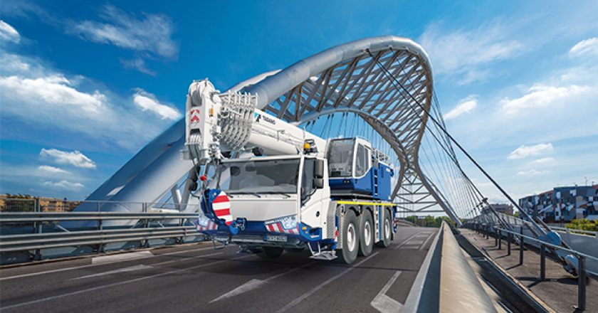 Tadano has recently added new models to its telescopic crawler and 3 axle all terrain ranges. The telescopic crawler includes track position technology, providing optimum lift performance and a boom with the largest radius in its class.