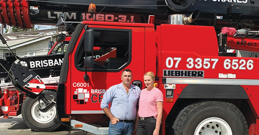 Ten years ago, Joe and Sheree Conti decided to explore opportunities within the Brisbane crane hire sector. Today, Brisbane City Cranes is one the of fastest growing crane hire businesses in Queensland's capital.