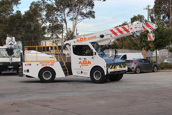 All Over and Rigging Cranes recently purchased the first TIDD PC28.