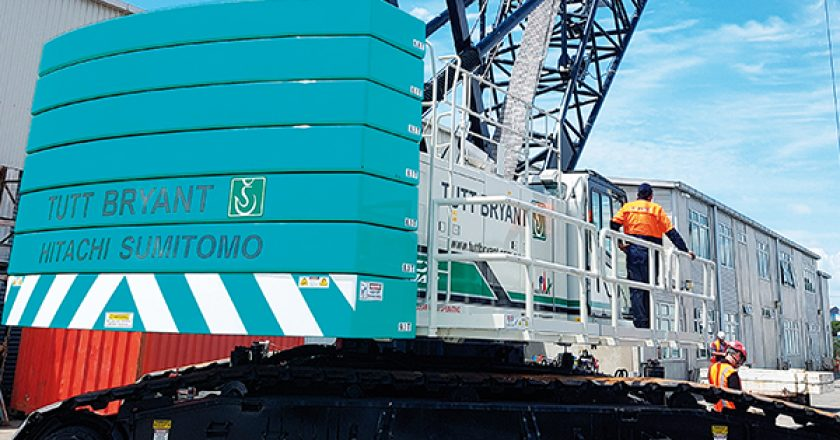 Tutt Bryant Heavy Lift & Shift recently delivered a 150t SCX1500A-3 crawler crane to NZ Crane Hire, Auckland's longest standing mobile crane hire business.
