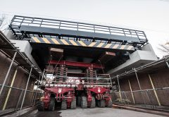 ALE has undertaken a vital double bridge replacement in the UK to help future proof the region's rapid transit and light rail system.