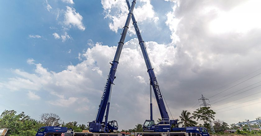 A Colombian crane rental company has purchased the country's first Grove GMK5250L to help modernise the country's crane fleets.