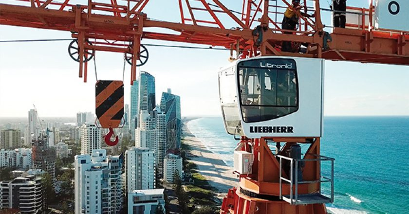 Liebherr Tower Cranes is transitioning from being represented by a local dealer to a factory direct business since taking over the business activities of Morrow Equipment.