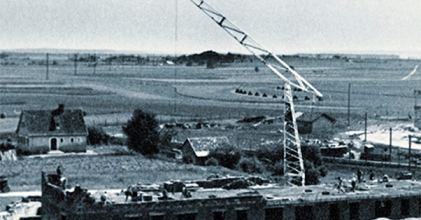 The Liebherr group is celebrating the 70th birthday of its first ever mobile tower crane.