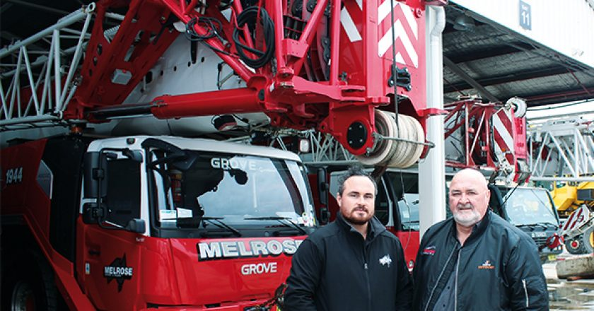 Melrose Cranes & Rigging is a family-owned Sydney company with brothers Gregg and Tony Melrose at the helm. Ensuring the crane fleet is contemporary and utilised to the maximum, for over 20 years, is a fair juggling act. Gregg Melrose provides the following insights into how he has managed to do just that.