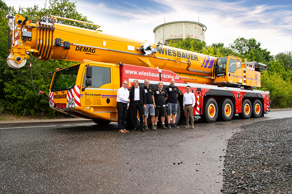 A crane service provider has added a new Demag AC 300-6 all terrain to its fleet to help erect and dismantle tower cranes.