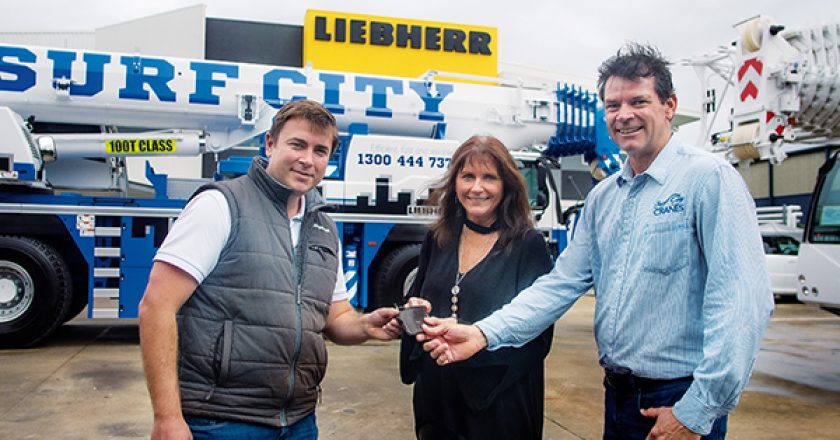 How a husband and wife team, turned a dream into one of the largest crane businesses on the Gold Coast.