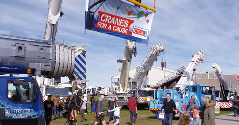 "The CICA South Australian ""Cranes for a Cause"" Day was an event that will be long remembered by the community, organisers and everyone who participated on the day."