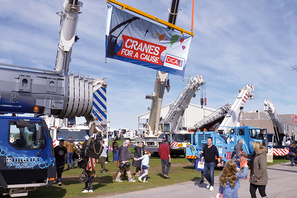 """The CICA South Australian """"Cranes for a Cause"""" Day was an event that will be long remembered by the community, organisers and everyone who participated on the day."""