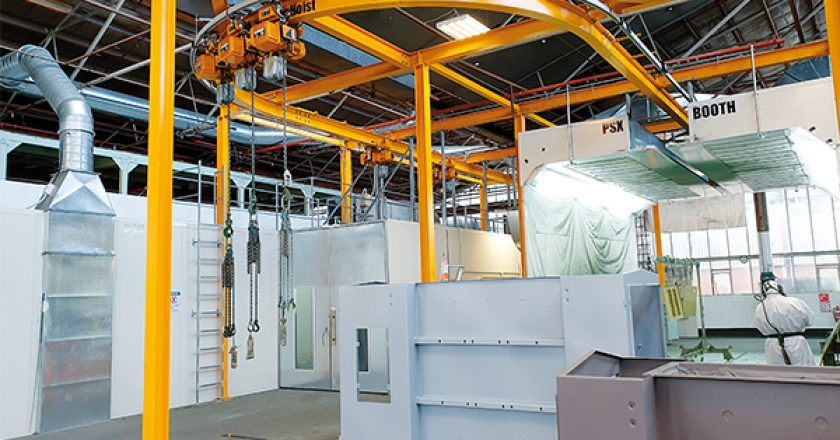 New Zealand's largest electrical transformer manufacturer, Etel, recently installed a conveying and lifting system featuring remote controlled KITO electric hoists and trolley units.
