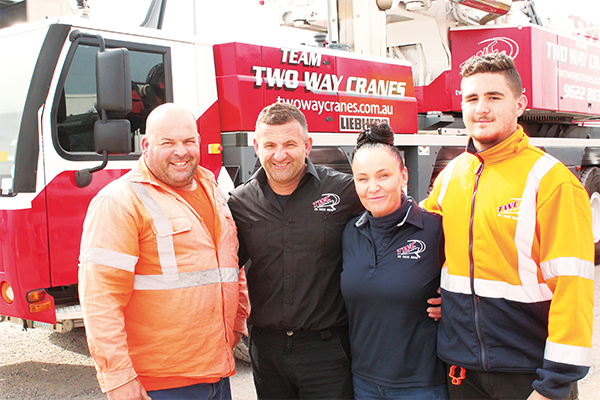 The management of the Two Way business is run by Frank Zammit and his family but their success revolves around listening to their customers.