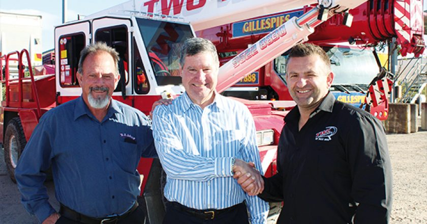 Frank Zammit, managing director and owner of Two Way Cranes, recently completed the acquisition of Gillespie Cranes – his second acquisition in as many years. Yet two years ago, Zammit faced every crane owners' nightmare, and potential disaster, when fire ripped through his crane yard.