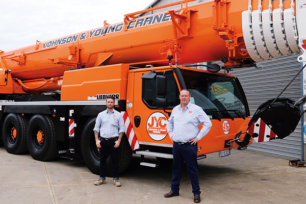 Brent Young and Reece Johnson drive a dynamic, customer-focused crane business renowned for its versatility and project management abilities on Victoria's major infrastructure projects. Cranes and Lifting reports.