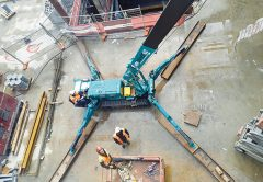 Mini Cranes NZ started with one man and a spider crane. Today, there's a crew of eight and eleven spider and mini cranes in the fleet. Cranes and Lifting investigates.
