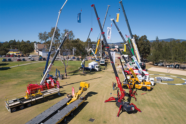 The Australian crane industry got right behind this year's CICA Conference and Exhibition, and there were plenty of highlights.