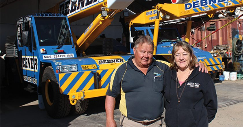 "It might have taken ""crane personality couple"" Ari and Marie Debner a few goes, but focussing on what they do best turned their business into the success it is today."