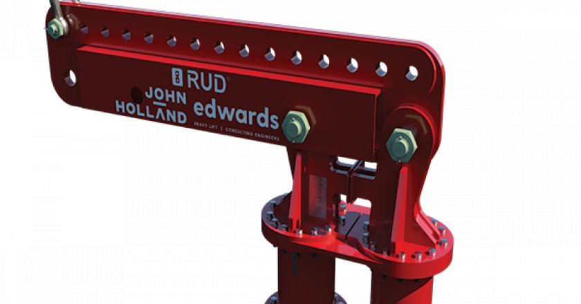 A new lifting innovation designed for the Metro Tunnel Project and jointly developed by John Holland, Edwards Heavy Lift and RUD won the 2019 CICA Innovations Award.