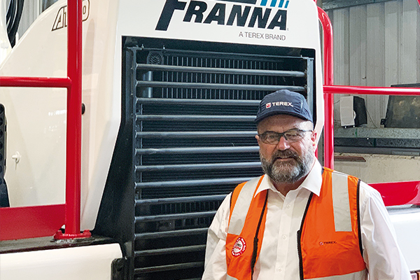 Mark Lock, sales director, Franna, recently took time to speak to Cranes and Lifting, sharing his reasons for joining the company and provided insights into Franna's global product vision.