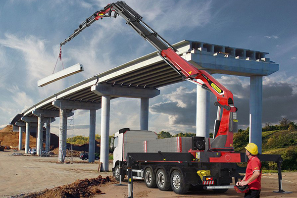 Palfinger has launched two new crane models in the 60 metre-tonne segments, the PK 55.002 TEC 5 and the PK 58.002 TEC 7.