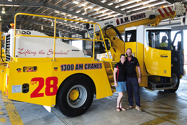 Northern Territory crane hire business purchases two TIDD PC28 pick and carries with Tier One customers in mind. Cranes and Lifting reports.