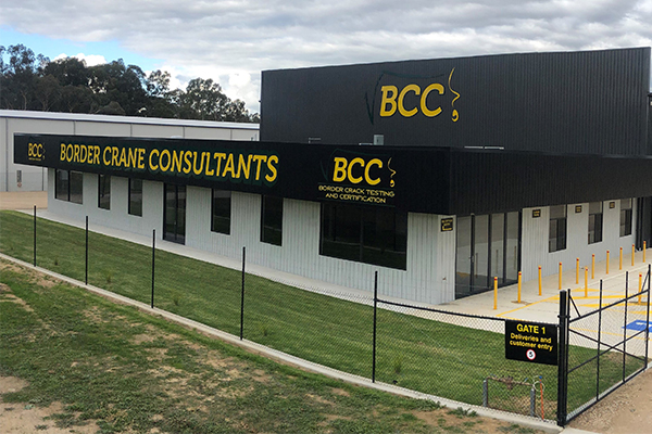 Border Cranes Consultants has opened a $3.8 million facility in Wodonga, which is set to create new jobs for regional Australia.