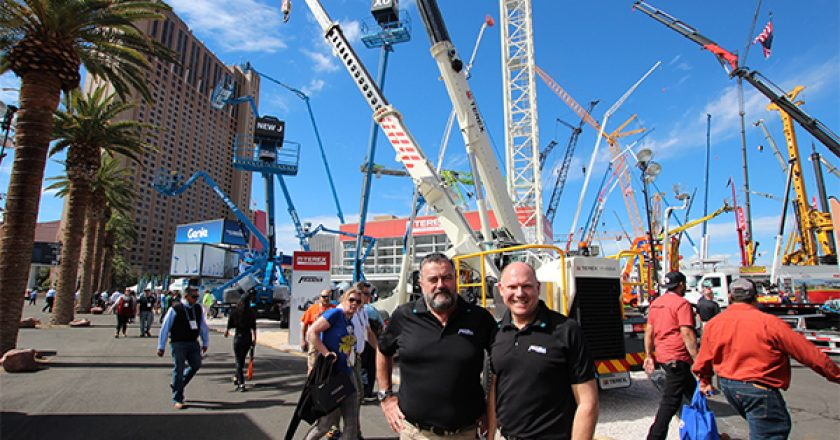 With an eye on international sales and promoting the pick and carry concept to the global market, Terex exhibited a Franna at ConExpo for the first time. Mark Lock, Franna sales director, explains how the product was received.