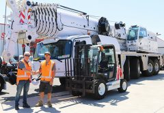 New Zealand crane hire business Ashton Crane Hire takes delivery of a Grove GMK5250XL-1 featuring the longest boom on five axles.