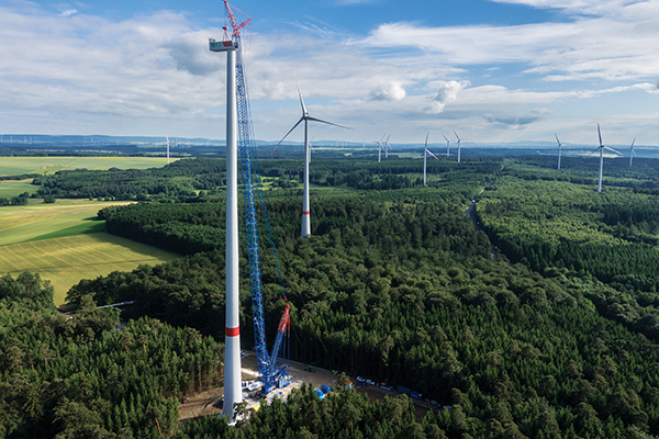 With investment at around $25B, the renewable energy sector, in particular the construction of wind farms, continues to provide important opportunities.