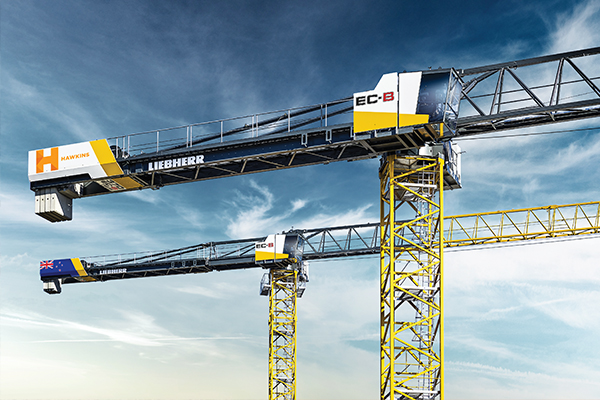 "During last year's Bauma, Liebherr launched a new Flat-Top series. Three of the eight units are equipped with fibre rope and therefore have ""fibre"" added to their product title. The first unit from the series is headed to Auckland, New Zealand. Cranes and Lifting explains."