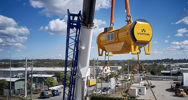 Heavy lifting company Mammoet has signed a deal with Australian technology company Verton to introduce its load management system to an international network of clients.