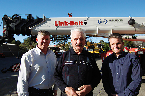 For many crane hire businesses across the country, Gerhard Baden is synonymous with the large scale introduction of the all terrain into Australia.