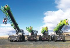 Gleason Cranes Sales and Rentals recently won the five crane tender to supply Zoomlion rough terrains and a 150 Tonne All Terrain for the $5.1 billion Snowy Hydro 2.0 mega-hydropower project.