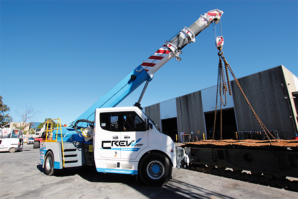 South Coast engineering firm CREW adds a TIDD articulated pick and carry to its crane fleet, catering to Tier One builders and contractors.