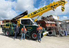 W.A. Pickles is a third-generation, family-owned business and 2020 sees the Pickles family celebrate 60 years in business. Father-and-son team, Wayne and Adam discuss the heritage of the family business and the reasons behind the purchase of the latest crane in their fleet, a TIDD PC28.