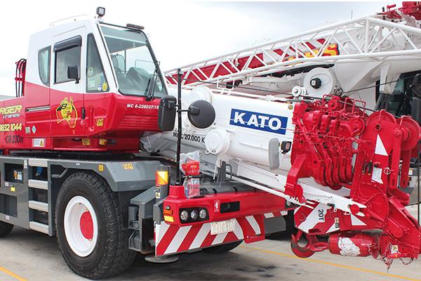 New KATO Cities to Borger Cranes - Cranes & Lifting